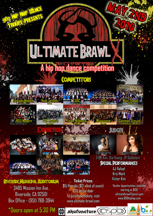 ULTIMATE BRAWL X POSTER